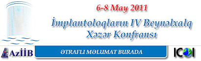 4 International Caspian Conference of Implantologists